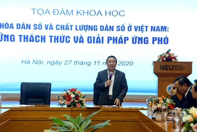 PGS.TS Nguyễn Hồng Sơn, Phó Trưởng Ban Kinh tế Trung ương phát biểu tại Tọa đàm
